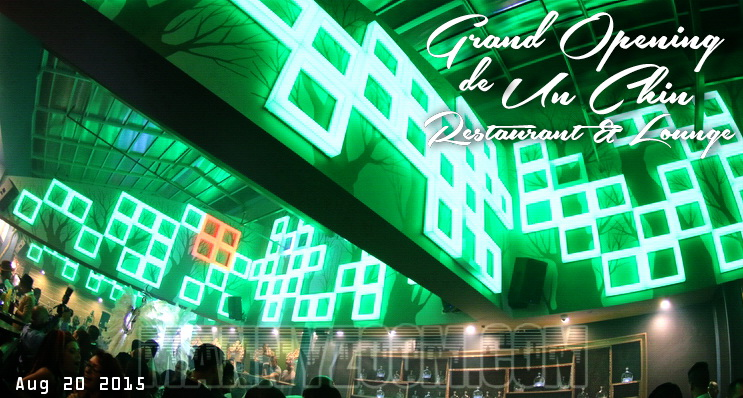 Grand Opening de Un Chin Restaurant and Lounge 45tagg